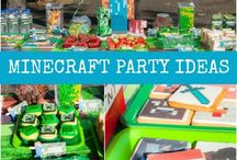 Minecraft party / by Mandy Champ