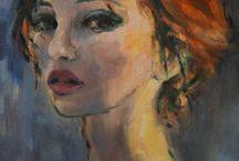 женский портрет (female portrait)