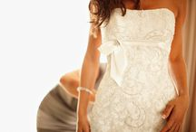 Wedding- Dresses & Hair / Dress and hair ideas / by Amanda Qualls