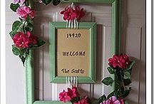 Home Decor-Front door, porch and yard decor