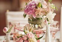 винтажные свадебные цветы