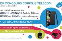 Jeu-concours Coriolis Télécom 2014 / De nombreux lots sont à gagner !