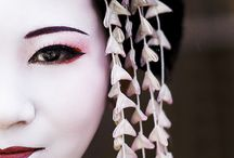 Geiko and Maiko / A board of the beautiful artists called geisha. Geiko is the Tokyo word for geisha. A maiko is an apprentice geisha.