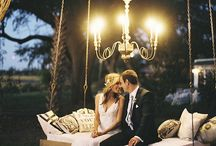 #WedtoWasyl / winter glam romance at a shoreline estate  Tufted Velvet, sparkle, candles, and twinkle lights  creams, ivories and grey with overgrown greens  pops of black and golds,  Modern meets vintage