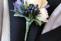 Flori în piept