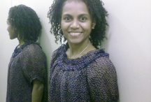 daily hair. naturally curly. (Papuan)