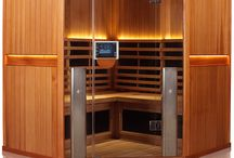 Clearlight Infrared Sanctuary Sauna / Clearlight Infrared Sanctuary Cedar Wood Saunas: With contemporary design and ground breaking innovation the Clearlight Sanctuary Saunas are unlike any other.