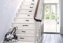 My Stair Obsession / by party + paper + presents P³