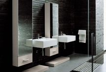 Bathroom Inspiration / Our 2012 project- a new Master Bath and Powder Room.