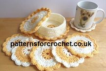 Crochet - Coasters