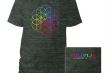 coldplay tshirt