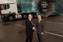 Road Safety Week 2015 / Our client, Vision Express, toured the UK during National Road Safety Week 2015 offering drivers a free eye test in a bid to make UK roads safer.