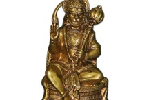 Brass statue / by Mogul Interior