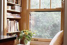 Book Reading Nooks/Window Seats / by Judy Gacek