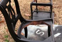 PAINTED,DISTRESSED FURNITURE