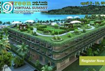 Greenroofs & Walls of the World™ Virtual Summit 2015 / The Mission of the Virtual Summit 2015 is to inform, share, and create a global social media experience online for learning and networking via the power of the Internet.