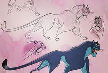 Cartoon zwierzaki