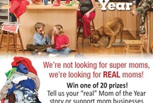 REAL Mom of the Year / Are you a REAL mom?  We'd love to hear your story!  Enter to win prizes at www.mompact.com!