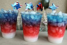 red white and blue / by Betty Dort