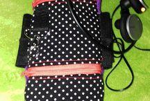 taschen und anderes aus Stoff der Walkperle / Genähtes der Walkperle