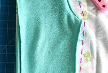 molde de roupa infantil