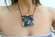 dijes de cristal + dicroic / cristal dichroic  pendants !