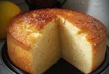 gâteau au lait vanille et citron