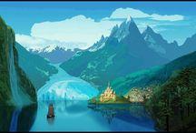 Background Landscapes Disney