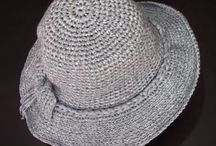 Tığ işi şapka yapılışı