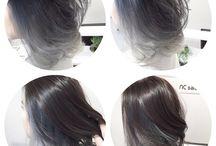granny grey asia hair