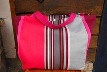 """Beach bags - Sacs de plage / Sacs de plage disponibles chez """"Les sacs de génie"""""""