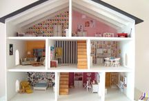 Mini Inspiration - Dollhouse / I wish to one day have time and budget to start this project... Inspiring dolls houses and related items.