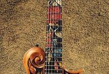 Electric guitars fancy