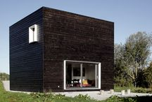CUBIC MINIMALISTIC HOUSES / Simple but classy structured housing