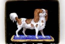 """Royal Spaniels  / The Cavalier King Charles Spaniel, the breed I live with. """"The more I learn about people, the more I like my dogs"""" ~ Mark Twain / by Black-Eyed Susan's Antiques"""