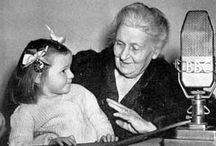 Maria Montessori / The woman behind the movement.  Great photos, articles and more on Maria Montessori.