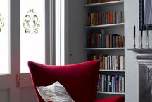 A Splash of Red Interiors / Using red within an interior space