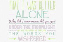 Lyrics and other