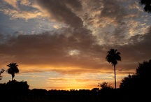 Beautiful Sunsets from Oleander Acres RV Resort