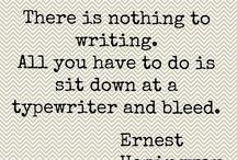 Writing, Writing & Reading....