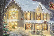 Christmas Thomas Kinkade