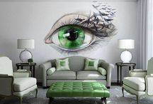 Interioare cu verde / Diferite camera amenajate cu ajutorul verdelui