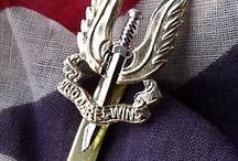 British Regimental Badges.
