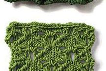 узоры, вязание