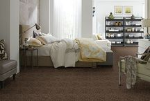 Pleasant Garden II / A beautiful cut and loop scroll design carpet