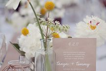 Wedding tables ideas