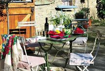 The Orchard: Outdoor Living : Shabby Chic Vintage / Outdoor Living, outdoor decor ideas gardening