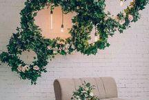Home flower decor