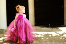 Tulle Flower Girls / by Celia Rachel