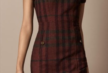 Fitted Check Dress